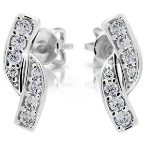 Danfil Romantické náušnice s diamanty DF2339b