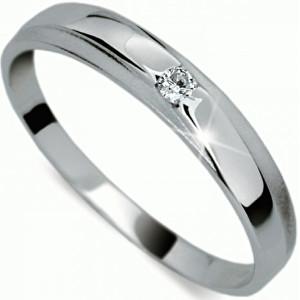 Danfil Jemný diamantový prsteň DF1617b 58 mm