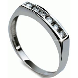Danfil Luxusní diamantový prsten DF1863b 49 mm