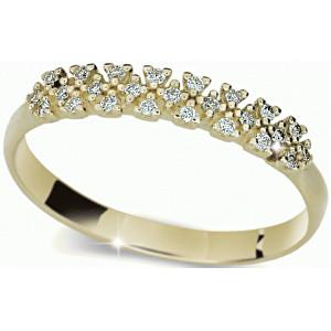 Danfil Krásný diamantový prsten DF2059z 55 mm