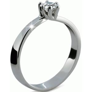 Danfil Luxusní zásnubní prsten s diamantem DF1960b 49 mm