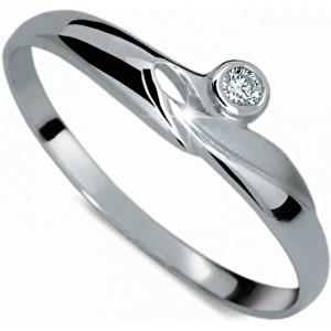 Danfil Zásnubní prsten DF1231b 49 mm