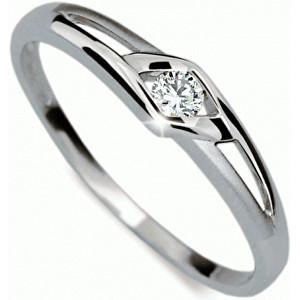 Danfil Krásný zásnubní prsten DF1633b 49 mm
