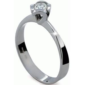 Danfil Originální zásnubní prsten s diamantem DF1857b 49 mm