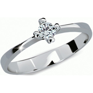Danfil Něžný zásnubní prsten DF2089b 52 mm