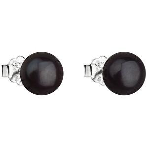 Evolution Group Stříbrné náušnice s pravými perlami Pavona 21042.3