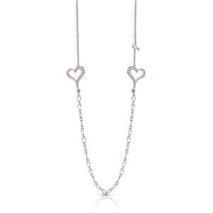 Guess Dlouhý bicolor náhrdelník UBN28030
