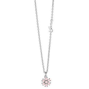 Guess Náhrdelník s růžovými krystaly California Sunlight UBN61071