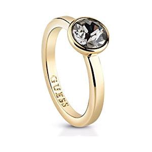 Guess Pozlacený dámský prsten UBR83018 52 mm