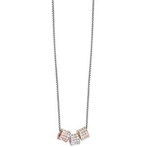 Guess Slušivý náhrdelník s krystaly UBN21592