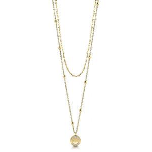 Guess Stylový dvojitý náhrdelník UBN28032