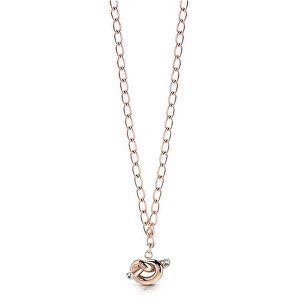 Guess Štýlový náhrdelník s uzlom UBN29014