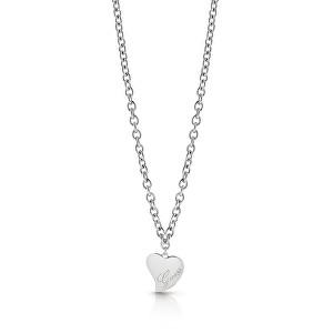 Guess Stylový náhrdelník se srdíčkem UBN28059