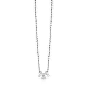 Guess Trendy náhrdelník s přívěsky UBN84047