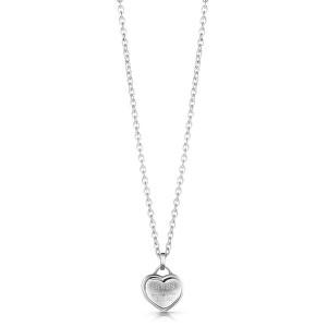 Guess Zamilovaný náhrdelník se srdíčkem UBN28011