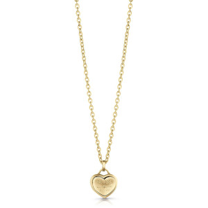 Guess Zamilovaný náhrdelník se srdíčkem UBN28012