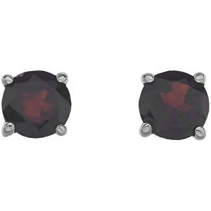 Hot Diamonds Stříbrné náušnice Hot Diamonds Anais Granát AE001