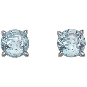 Hot Diamonds Stříbrné náušnice Hot Diamonds Anais modrý Topaz AE012
