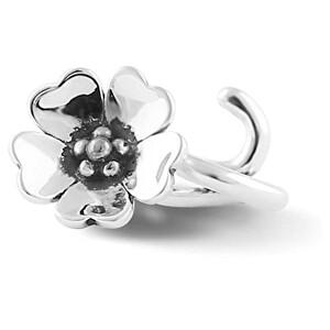 Infinity Love Stříbrný korálek ve tvaru květiny HG-348-D