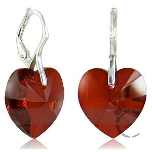 MHM Náušnice Srdce V Siam 32125