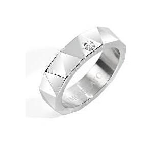 Morellato Ocelový dámský prsten s krystalem CULT SSI01