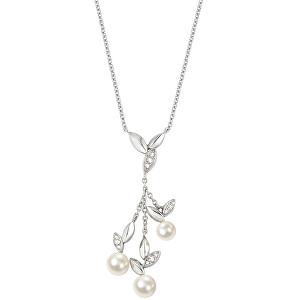 Morellato Ocelový náhrdelník s perlami Gioia SAER17