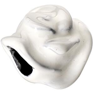 Morellato -  Ocelový přívěsek Drops White Rose SCZB0