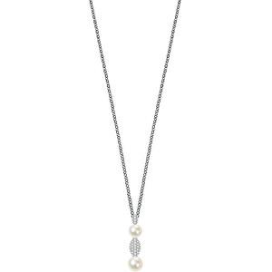 Morellato Strieborný náhrdelník Perla SANH08 (retiazka, prívesok)