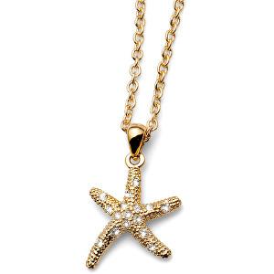 Oliver Weber Náhrdelník Starfish Gold 11137G
