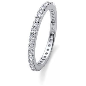 Oliver Weber Stříbrný prsten s krystaly Beach Jolie 63225 XL (60 - 63 mm)