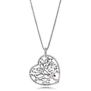 Pandora Překrásný stříbrný náhrdelník Strom lásky 396582ENMX-75 (řetízek, přívěsek)