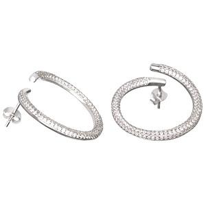 Preciosa Fashion stříbrné náušnice s krystaly Finespun 5200 00