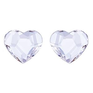 Preciosa Náušnice s čirým krystalem Amore 2031 00