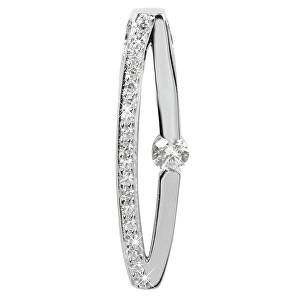 Silver Cat Stříbrný přívěsek s krystaly SC119