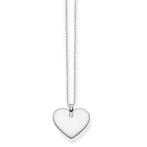 Thomas Sabo Stříbrný náhrdelník se srdíčkem KE1396-001-12-L42v (řetízek, přívěsek)