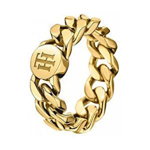 Tommy Hilfiger Fashion pozlacený prsten TH2700967 54 mm