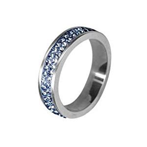 Tribal Oceľový prsteň RSSW02-LSAPPH 60 mm