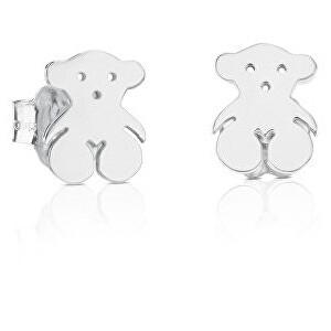 Tous Stříbrné drobné náušnice s medvídkem 611140030