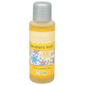 Zobrazit detail výrobku Saloos Bio tělový a masážní olej - Devatero kvítí 125 ml