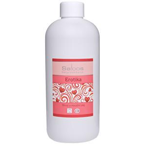 Zobrazit detail výrobku Saloos Bio tělový a masážní olej - Erotika 500 ml