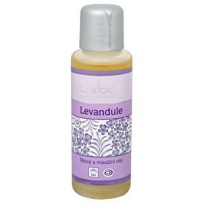 Saloos Bio tělový a masážní olej - Levandule 125 ml