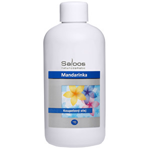 Zobrazit detail výrobku Saloos Koupelový olej - Mandarinka 500 ml