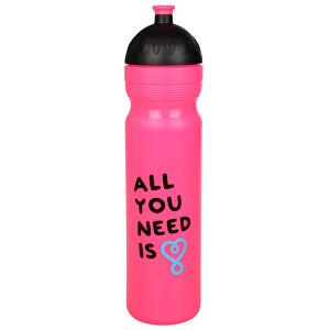 Zobrazit detail výrobku R&B Zdravá lahev 1 l UAX All You Need - růžová
