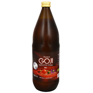 Zobrazit detail výrobku Allnature Goji Kustovnice čínská Premium - 100% Bio šťáva 1000 ml
