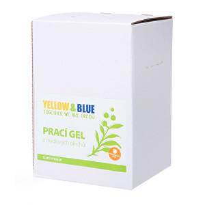 Zobrazit detail výrobku Yellow & Blue Prací gel z mýdlových ořechů s pomerančovou silicí 5 l