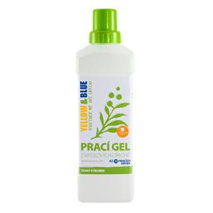 Zobrazit detail výrobku Yellow & Blue Prací gel z mýdlových ořechů s pomerančovou silicí 5 l - SLEVA - POŠKOZENÝ OBAL