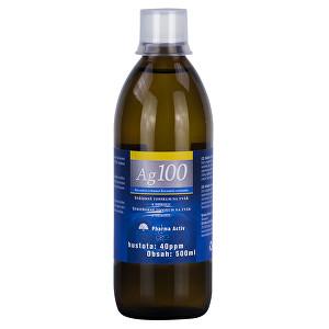 Pharma Activ Koloidní stříbro Ag100 (40ppm) 300 ml - SLEVA - Poškozená etiketa