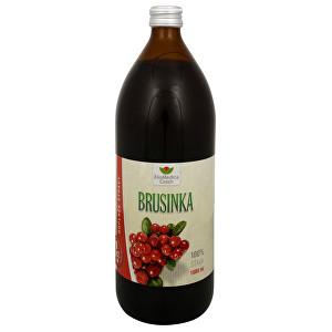 EkoMedica Czech Brusnica - 100% šťava z brusnice 1000 ml