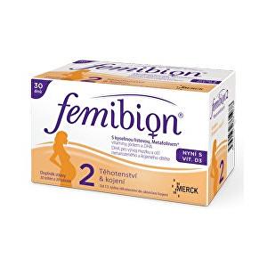 Zobrazit detail výrobku FEMIBION Femibion 2 s vitamínem D3 30 tbl. + 30 tob.