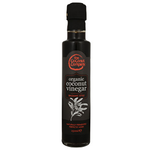 The Coconut Company BIO RAW Kokosový ocet Balsamiko 250 ml